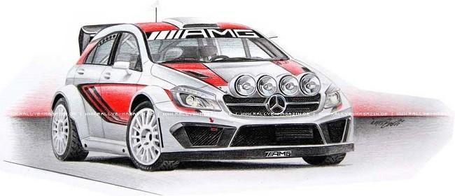 Mercedes AMG WRC koncept.
