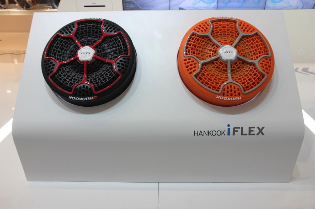Hankook i-Flex live in Frankfurt Motor Show 2013
