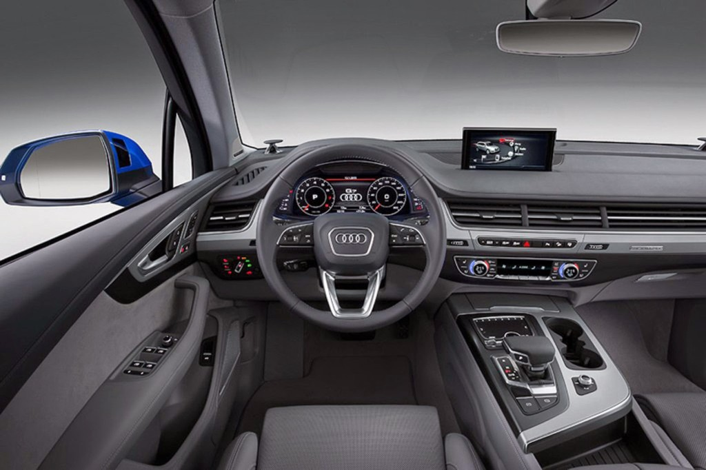 Audi prezentuje nowe Q7 wnętrze i kokpit