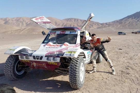 Dakar 2015 albert-llovera-y-Alex-haro 1