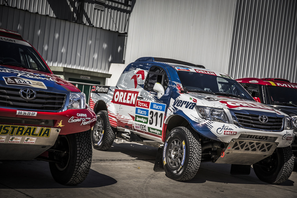 ORLEN Team w Rajd Dakar 2015
