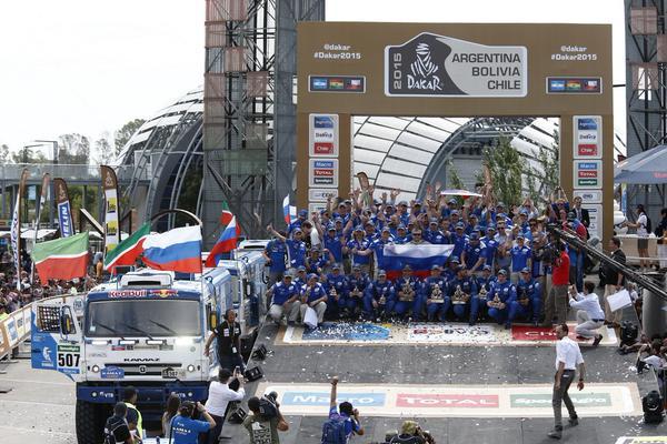 Rajd Dakar 2015 Kamaz