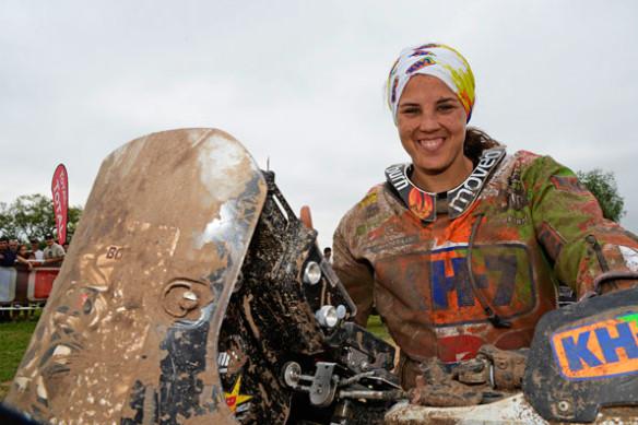 Rajd Dakar 2015 Laia_Sanz
