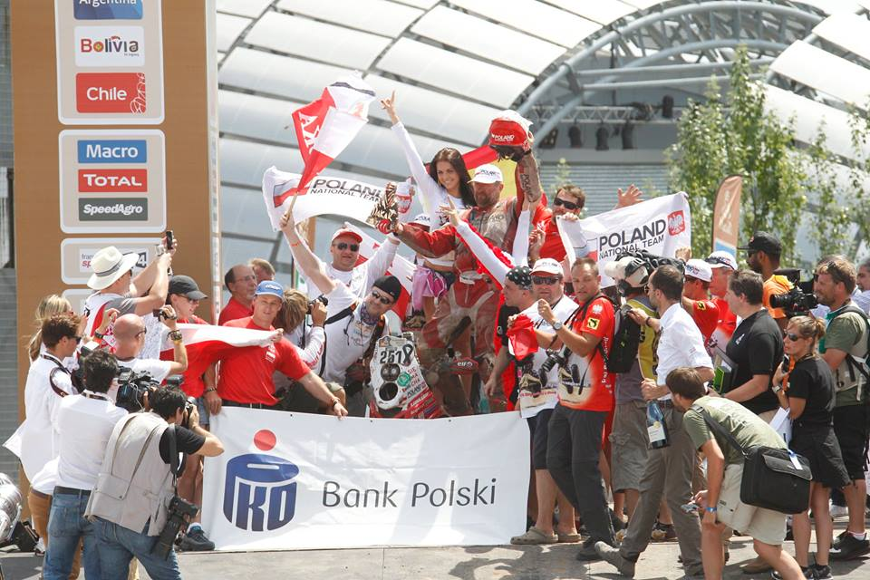Rajd Dakar 2015 Sonik meta