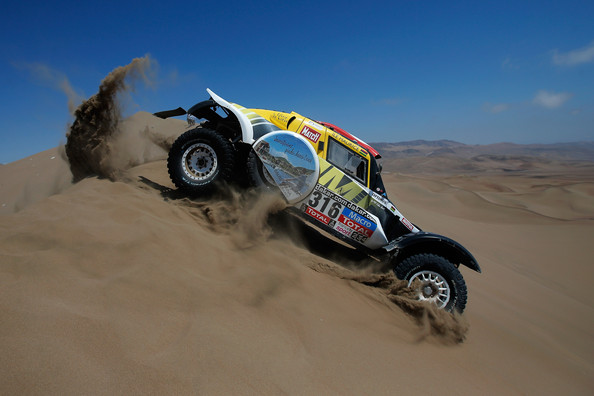 Rajd Dakar 2015 etap 10 Pascal Larroque