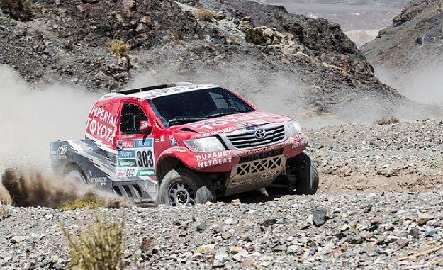 Rajd Dakar 2015 etap 10 de-Villiers