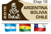Rajd Dakar 2015 etap 10 - skrót