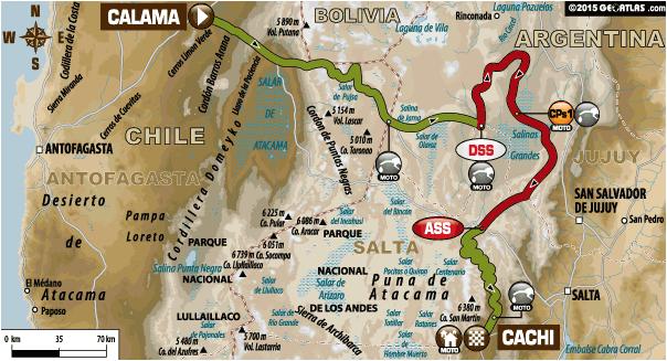 Rajd Dakar 2015 etap 10 motory