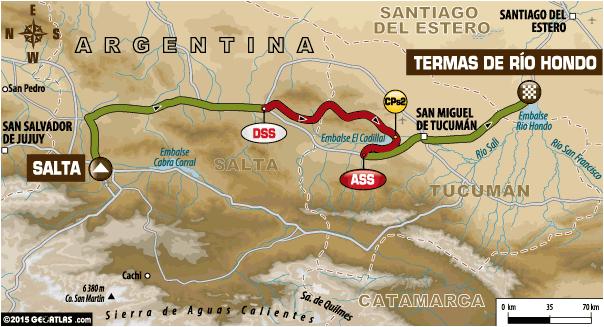 Rajd Dakar 2015 etap 11 auta
