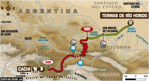 Rajd Dakar 2015 etap 11 motory