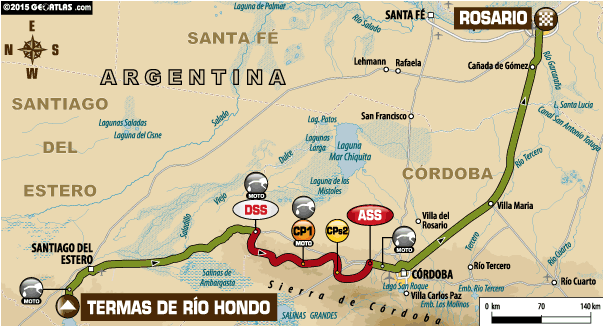 Rajd Dakar 2015 etap 12