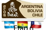 Rajd Dakar 2015 etap 6, wyniki