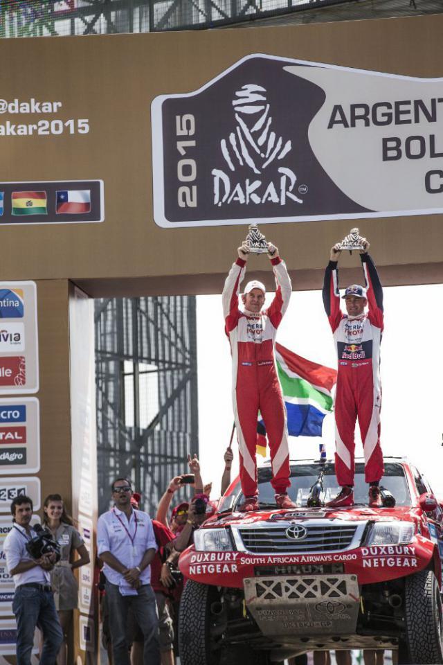 Rajd Dakar 2015 giniel-de-villiers