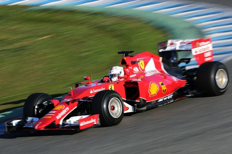 Vettel i Ferrari