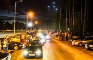 Nielegalny wyścig w Kielcach