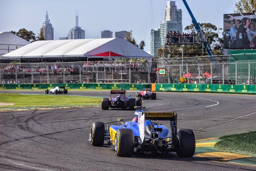 Sauber f1 w Melbourne