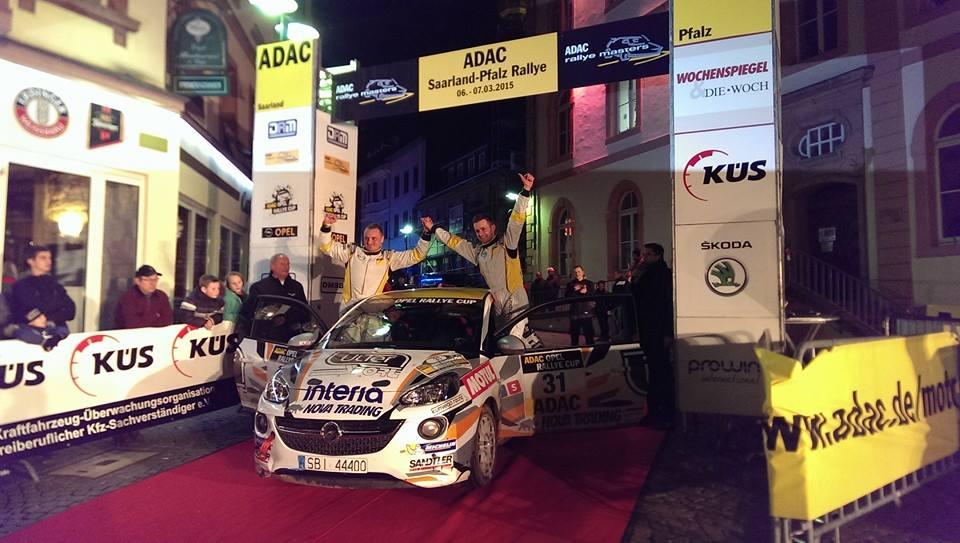 ADAC Opel Rallye Cup i Ulter Sport