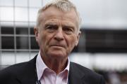 F1: Max Mosley chce