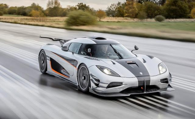 Koenigsegg One:1 próbował pobić rekord 0-300-0 km/h