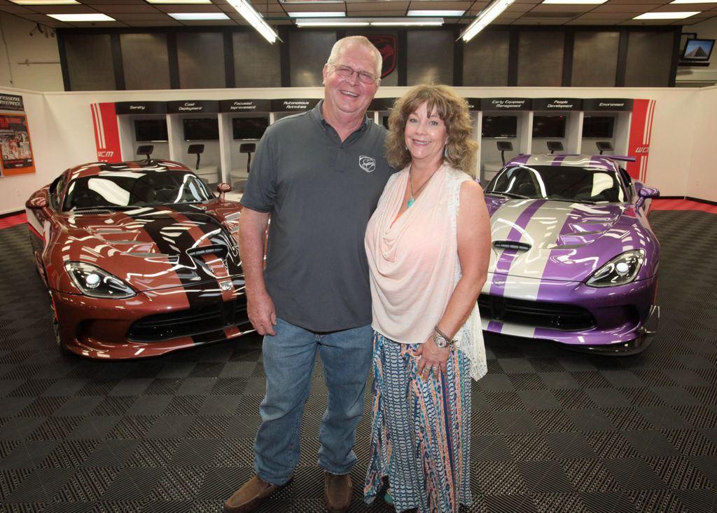 Dodge Viper - Niezwykła kolekcja pary z Teksasu