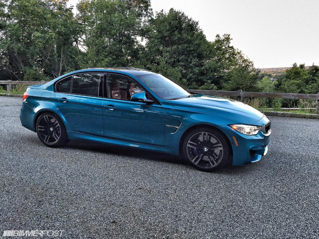 BMW M3 i Atlantis Blue - kolor idealny!