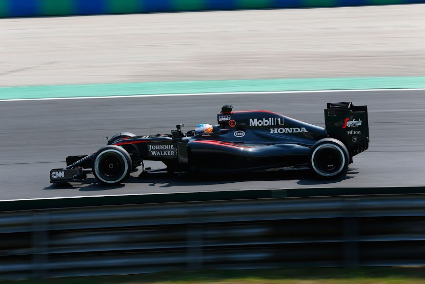 Grand Prix Węgier mclaren