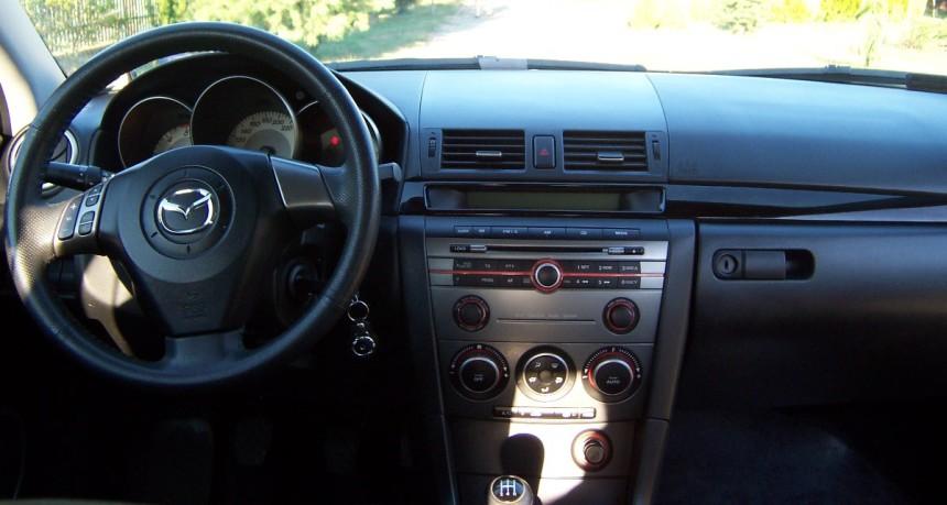 Deska Rozdzielcza Mazda 3 i kosmetyki samochodowe