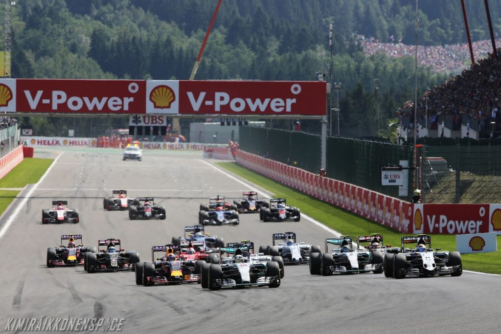 F1 - Belgian GP - Spa Francorchamps