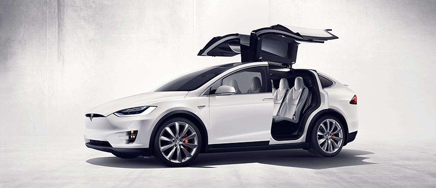 Oficjalnie: Tesla Model X