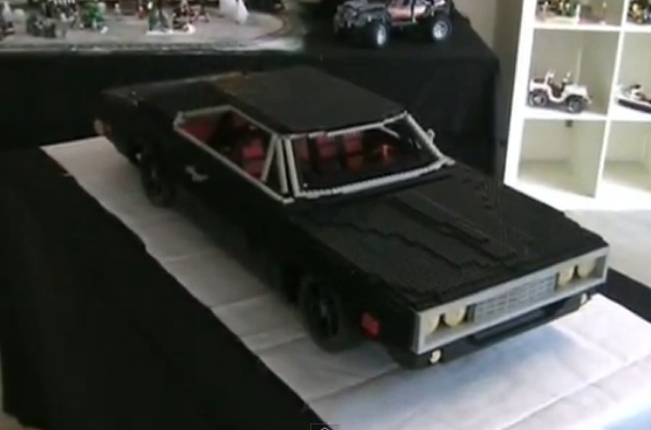 DODGE CHARGER 1970 Lego edition
