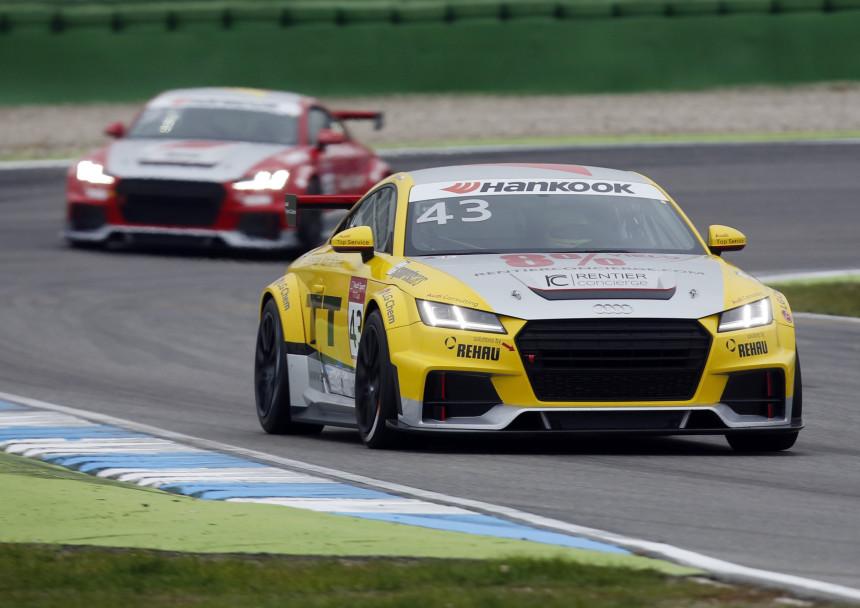 Jan Kisiel - zwycięzca Audi Sport TT Cup 2015