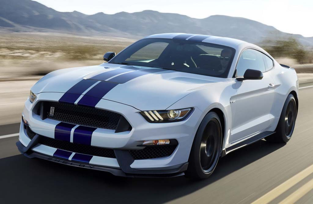 najnowszy Ford Mustang Shelby GT350