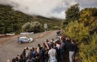 Rajd Korsyki - trudne warunki we Francji