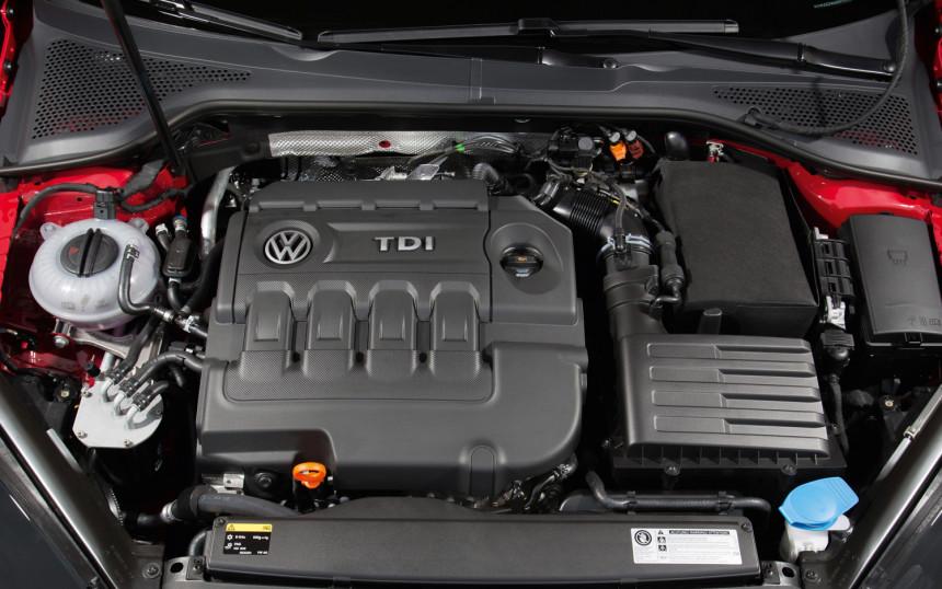 rozrząd w VW Golf tdi 2015