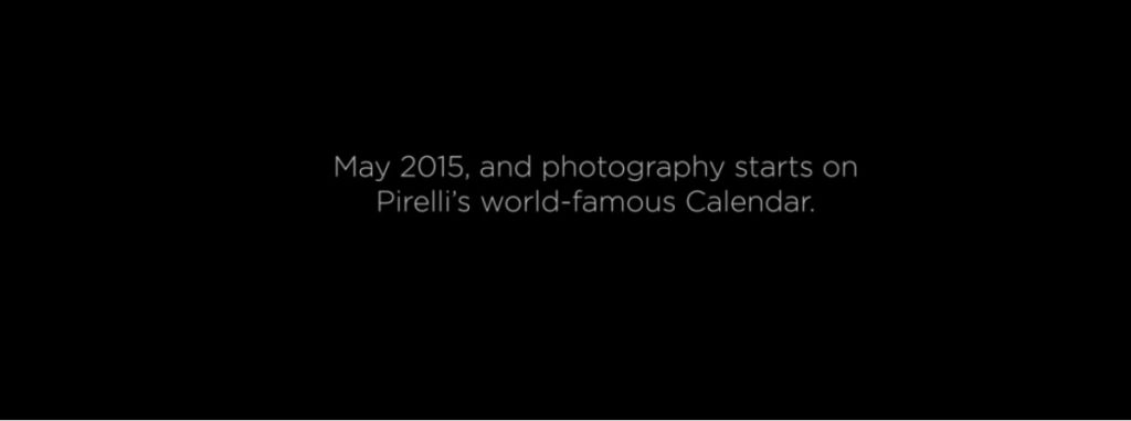 Kalendarz Pirelli 2016 już wkrótce