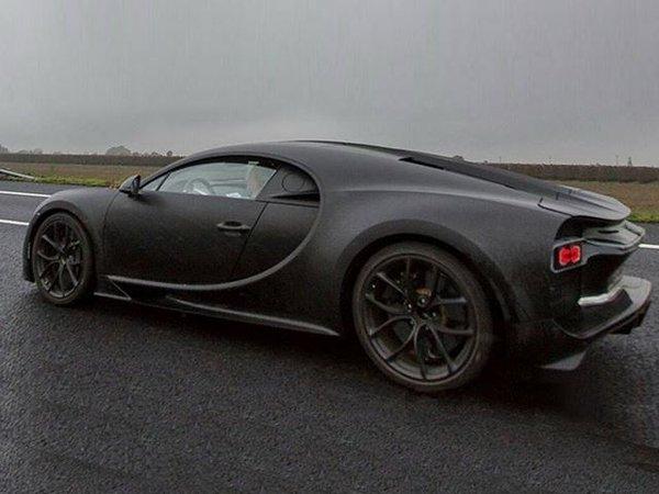 Bugatti Chiron 3/4 back