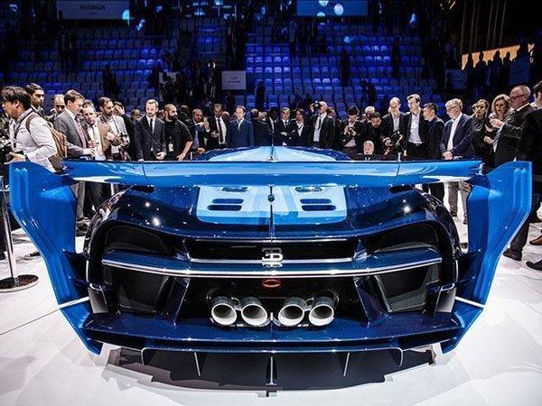 Nie z tego świata - Bugatti Chiron