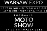 Warsaw Moto Show 2015 - rozkład jazdy