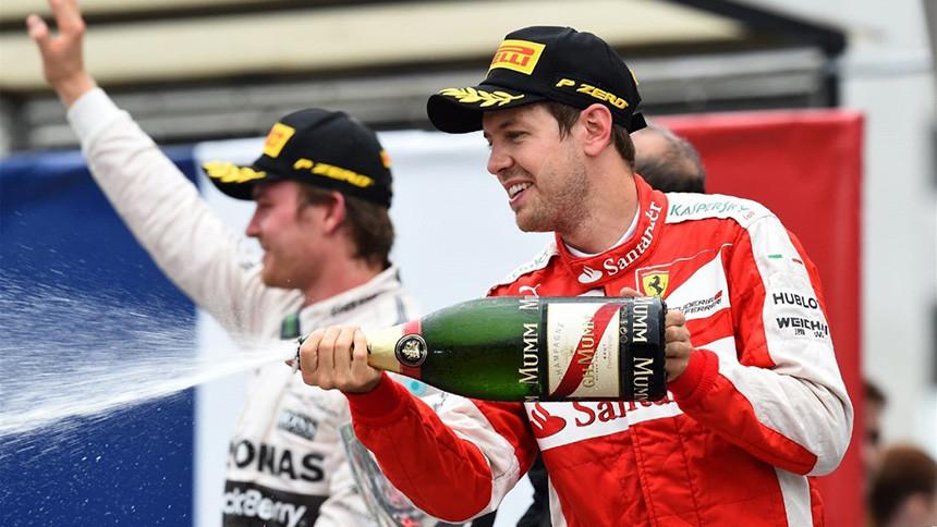 Sebastian Vettel P3
