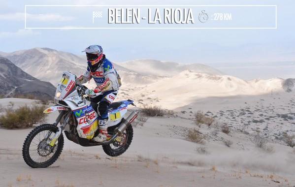 Dakar 2016 - Stage 10 - piaski Fiambali