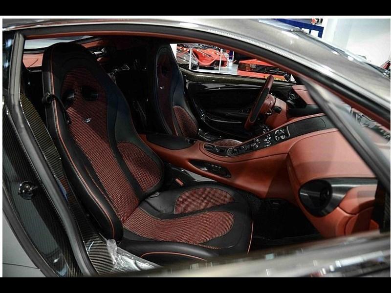 wnętrze Aston Martin One-77