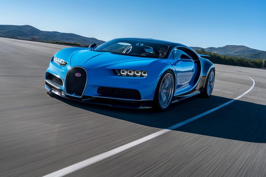Bugatti Chiron: Posłuchaj melodii 1500 koni mechanicznych