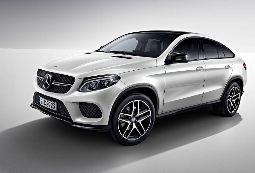 Mercedes GLE Coupé - superbohater w garniturze