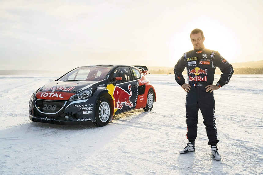 Rally RX - Yeah, haven't u heard? Loeb is doing rallycross now