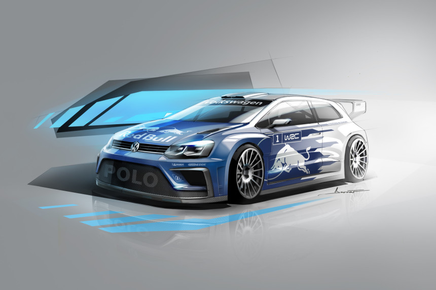 WRC New VW Polo R 2017