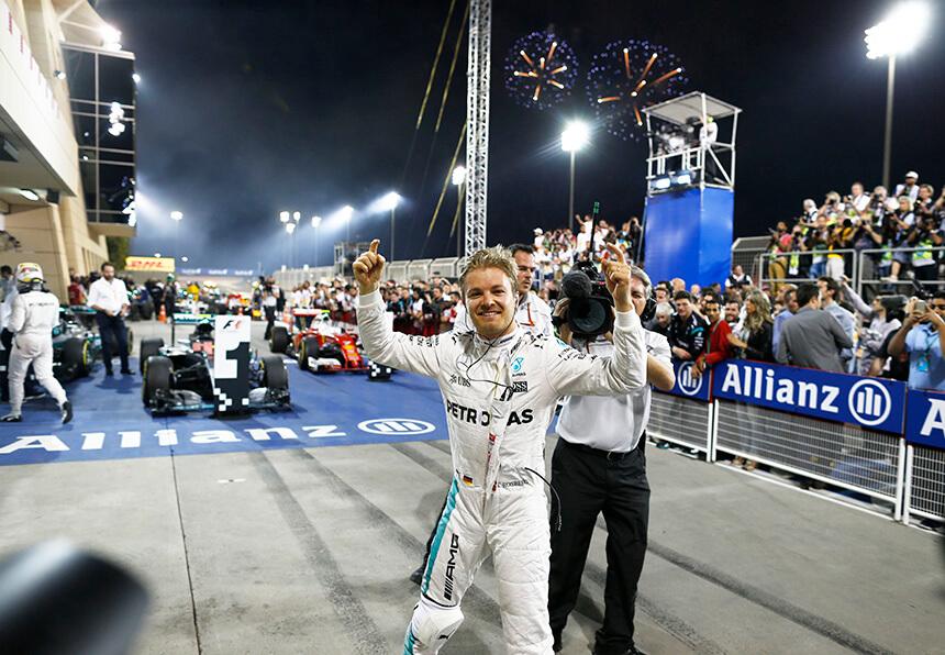 Rosberg po raz piąty!