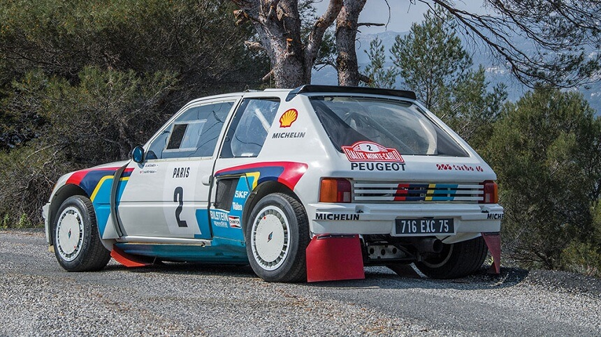 1984 Peugeot 205 Turbo 16 Evolution 1 Group B