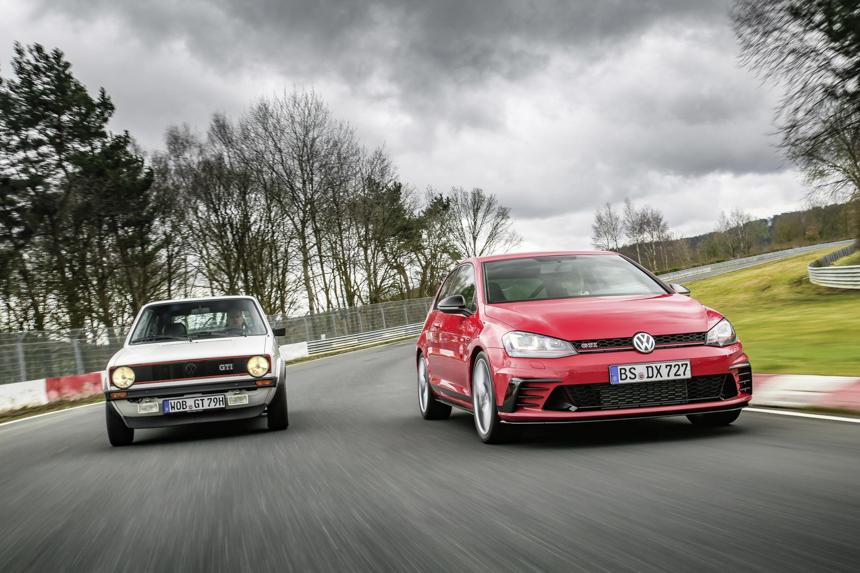 Golf GTI Clubsport S - najszybsza przednionapędówka na Nurburgringu!
