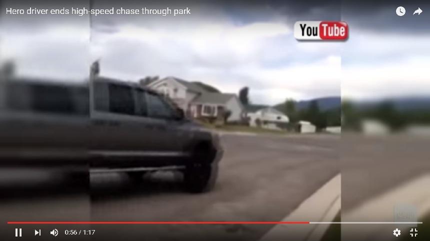 W USA 14-nasto latek ucieka przed policją