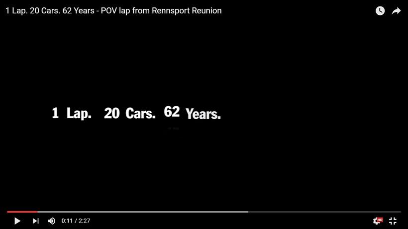 1 okrążenie, 20 samochodów i 62 lata historii Porsche